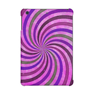 Pink purple swirls pattern iPad mini retina case