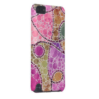 Pink Purple Swirly Abstract iPod Touch (5th Generation) Case