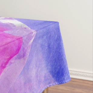watercolor tablecloths zazzle