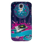 Pink Purple Teal DJ Spin Turntable iPhone 3 Case