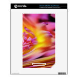 Pink Purple Violet Yellow Abstract Wave Design NOOK Color Decal