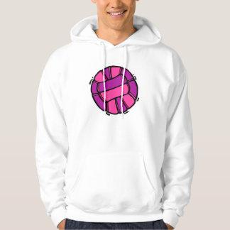 Pink & Purple Volleyball Hoodie