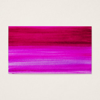 Pink Purple Watercolor Fuchsia Abstract Background Business Card
