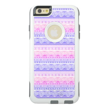 Aztec Themed Pink Purple White Aztec OtterBox iPhone 6/6s Case