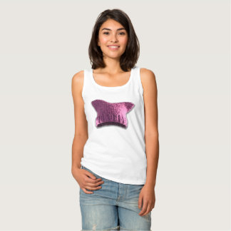 Pink Pussy Cat Hat #2 Tank Top