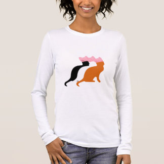 Pink Pussy Cat Women's Rights Sweatshirt