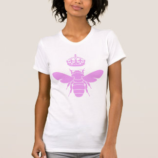 Pink Queen Bee Logo...Are You A Queen Bee? T-shirt