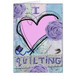 Pink Quilt Card