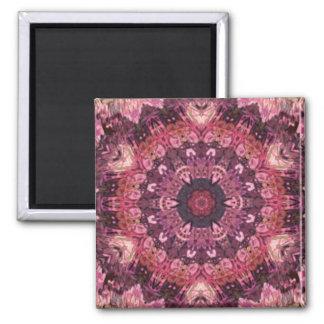 pink quilt magnet