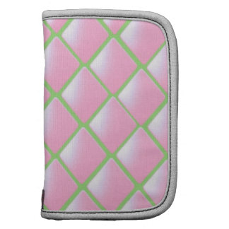 Pink Quilted Diamond Pattern Planners
