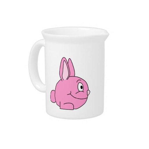 Pink Rabbit Drink Pitcher