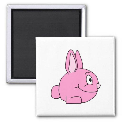 Pink Rabbit Magnet