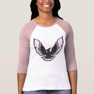 Pink Racing Bird T-Shirt