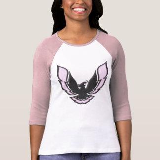 Pink Racing Bird Tshirts