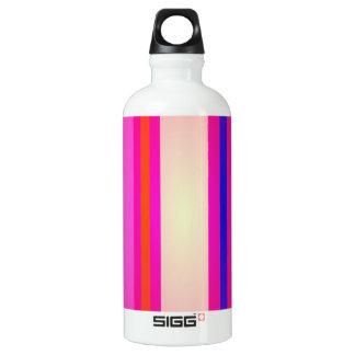 Pink Rain Art Water Bottle