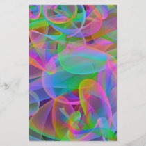 Pink Rainbow Abstract