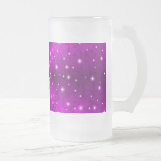 Pink Rainbow in Elephant Skin Leather optics Mug