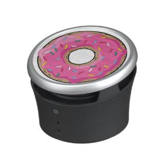 Pink Rainbow Sprinkle Donut Bluetooth Speaker