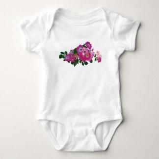 Pink Rambler Rose Infants T Shirt