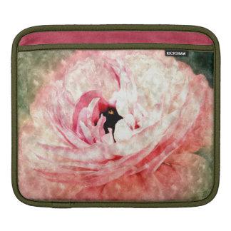 Pink Ranunculus Flower iPad Sleeve