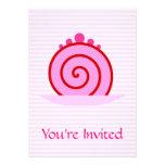 Pink Raspberry Cake. Invites