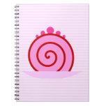 Pink Raspberry Cake. Notebooks