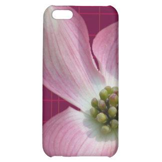 Pink/Raspberry Plaid Dogwood Case iPhone 5C Covers