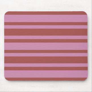 Pink / Raspberry Stripes custom mousepad