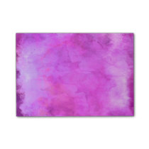 Pink Raspberry Watercolor Texture Pattern Post-it Notes