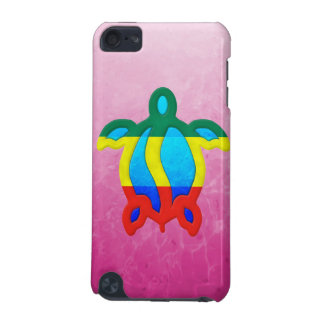 Pink Rasta Honu iPod Touch (5th Generation) Cover