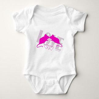 Pink ratón body para bebé