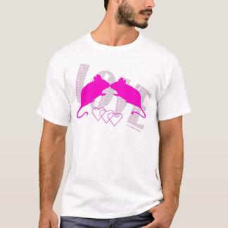 Pink ratón playera