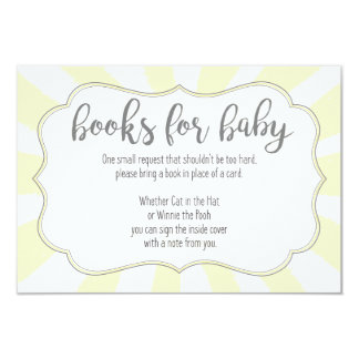 baby shower book request invitations announcements zazzle