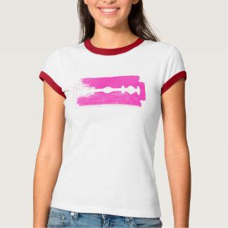 Pink Razorblade Tee Shirt