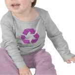 Pink Recycle Symbol Tshirt