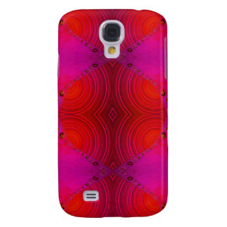 pink red abstract samsung galaxy s4 cover