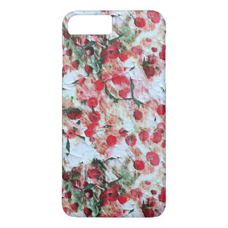 Pink Red Dirty polka Dot Grunge Decay iPhone 8 Plus/7 Plus Case
