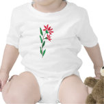 pink red flowers png rompers