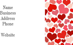 Business valentines day cards zazzle pink red hearts pattern valentines day love gifts note card colourmoves