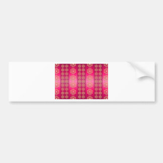 Pink Red Image Bumper Stickers