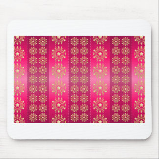 Pink Red Image Mouse Pad