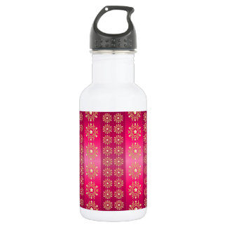 Pink Red Image Stainless Steel Water Bottle