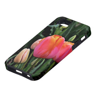 """""""PINK, RED & ORGANGE TULIPS"""" CASE FOR iPHONE 5/5S"""