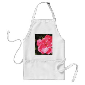 Pink Red Rose Bud Roses Flowers Photo Aprons