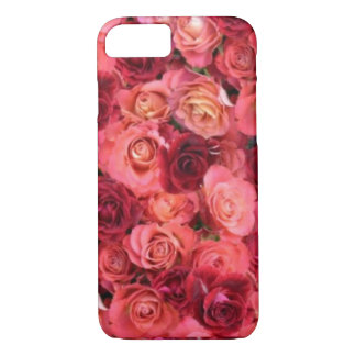 PINK RED ROSE FIELD iPhone 7 CASE
