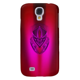 PINK RED SHADOW DUCK SAMSUNG GALAXY S4 COVER