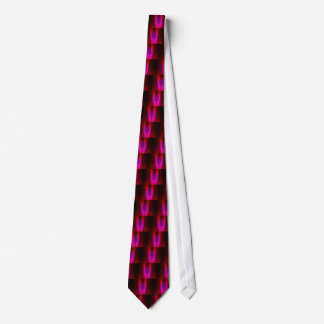 PINK RED SHADOW DUCK TIE