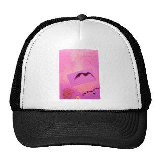 Pink Red Wild Bird Seagull Dream Girl Trucker Hat