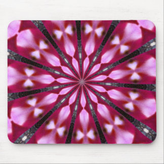 Pink Redbud Medallion Mousepad