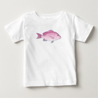 Pink Reef Fish Baby T-Shirt